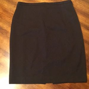 Express dark brown pencil skirt