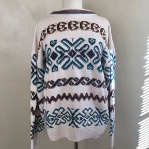 Vintage Unisex Oversized Sweater