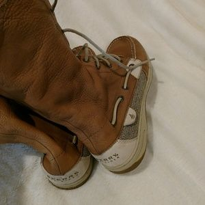 Speery leather boots size 10