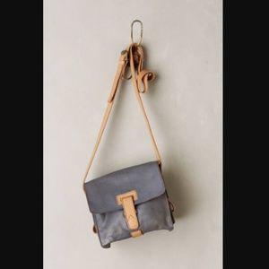 NWOT Anthropologie Holding Horses grey leather bag