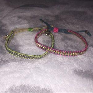 2 Stella & Dot bracelets