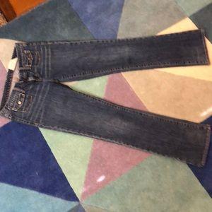 Gap 1969 jeans western patch pocket 6 regular
