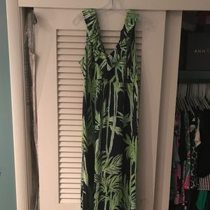 Lilly Pulitzer Maxi Dress, Size XL (Worn Once).
