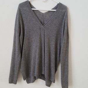 Vince v-neck wool and cashmere sweater