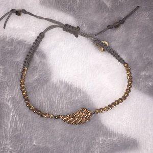 Stella & Dot leaf bracelet
