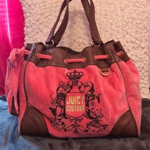 Juicy couture tote only used a few times