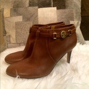Coach Brown Ankle Boots