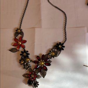 Jewelry - Aldo flower necklaces
