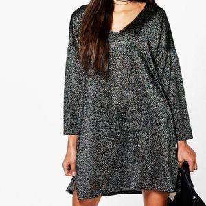 Oversized Shimmer Dress