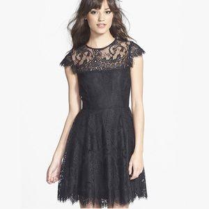 BB Dakota Rhianna Black Illusion Dress LBD