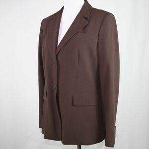 MICHAEL Michael Kors Classic Blazer In Chocolate
