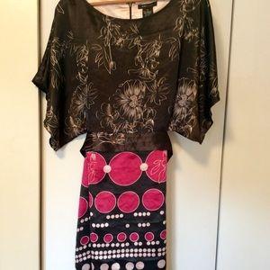 BCBG kimono style mini dress