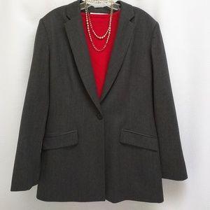 Jones New York wool blazer