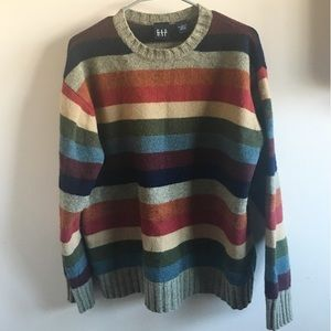 Vintage Rainbow Sweater