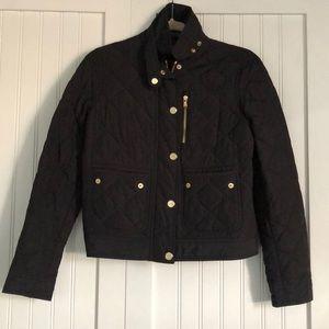 Ralph Lauren Quilted Black Jacket