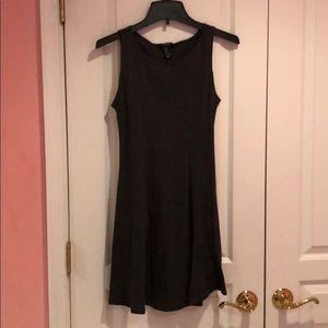 Forever 21 charcoal gray skater dress