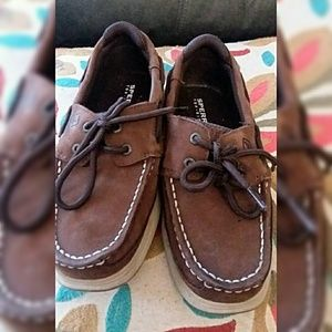 Sperry Lanyard Boys size 1 Med Shoes