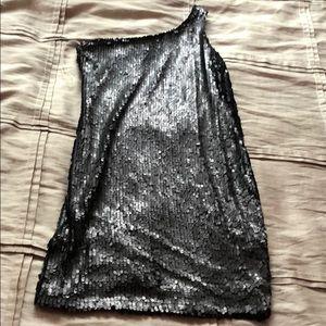 Black night cocktail dress