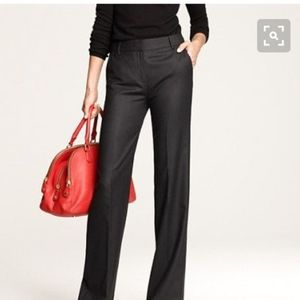 New w Tags! J. Crew Tall Hutton Trousers, Black 6