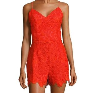 "NWT Lovers + Friends ""Songbird"" Romper XS"
