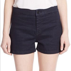 J Brand Mila High Waisted Tailored Shorts