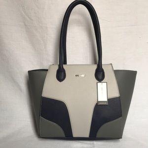 Nine West blue and grey purse
