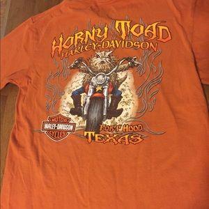 Men's Harley Davidson Pocket T-Shirt