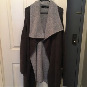 Zara Knit Sweater Cozy Long