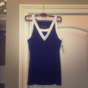 NWT INC Mariner Cut about Tank Top