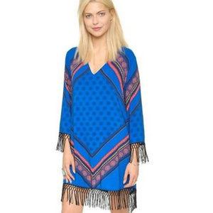 New MINKPINK Blue Tassel Dress size XS