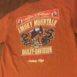 Smoky Mountain Harley-Davidson Tee