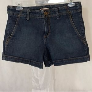 Faded Glory Denim Jean Shorts Women Size 12