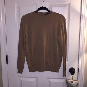 Zara Tan Knit Sweater
