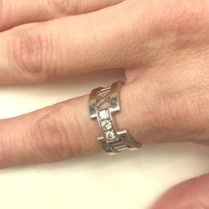 Tiffany Roman Numeral Ring
