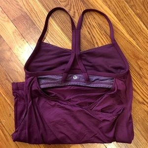 Awesome Lululemon Open-Back Yoga Tank!!!