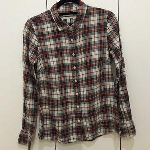 J. Crew Flannel Button Up