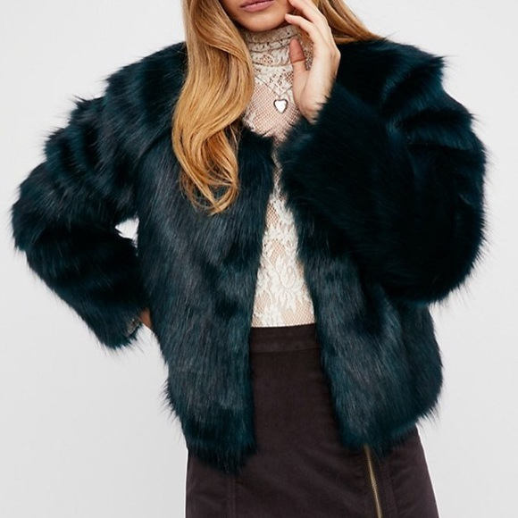 Jackets & Blazers - Plush Faux Fur Classic JACKET Soft Frankie Coat
