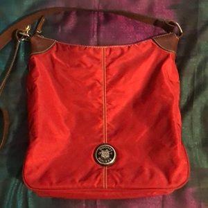 Dooney & Bourke Leather Nylon Bag