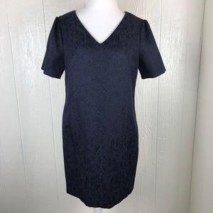 [Cynthia Steffe] Jaguard swing dress navy blue 12