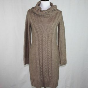 Cynthia Rowley Cable Knit Sweater Dress