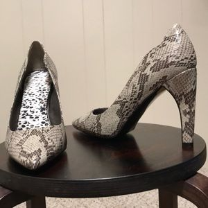 Sam Edelman Sadie snake print heels