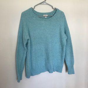 Merona teal sweater