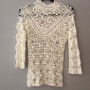 ASOS crochet top size 4