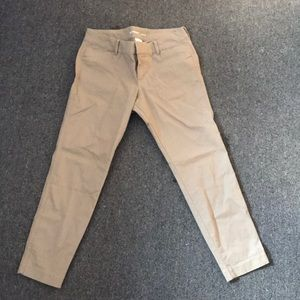NEVER WORN Capri Pixie Chinos