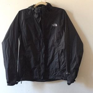 The North Face Jacket rain size Small Black color