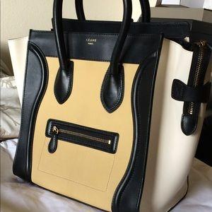 Celine Mini Luggage (Limited edition, tri color)
