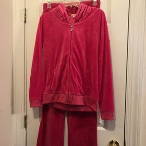 Size L/M Juicy Couture Velour Sweatsuit
