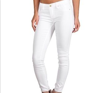 Blank NYC skinny white jeans size 25!