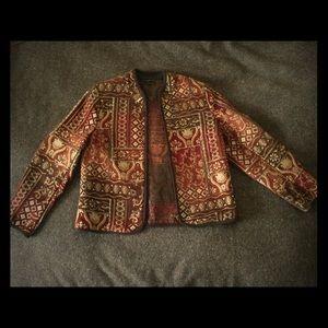 Vintage tapestry blazer