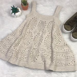 Crocheted Tank Top